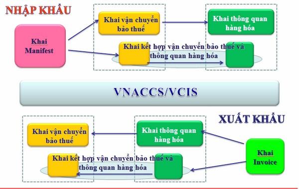 Hướng dẫn khai hải quan trên phần mềm VNACCS