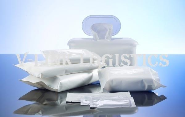 Thủ tục nhập khẩu khăn ướt, giấy ăn, giấy vệ sinh