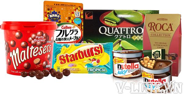 Thủ tục nhập khẩu bánh kẹo 01